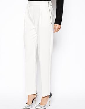 белые брюки Asos